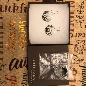 Silpada 925 sterling silver earrings